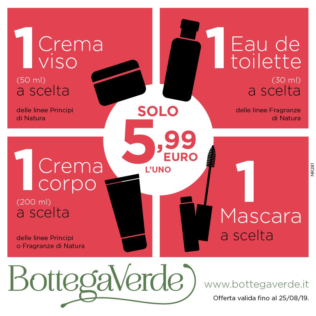 Bottega Verde: Offerte Speciali