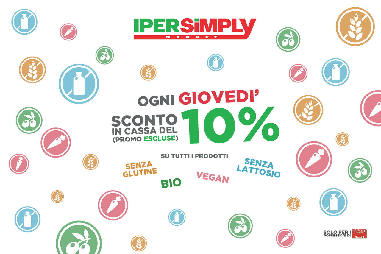 IperSimply: Giovedì Salutare
