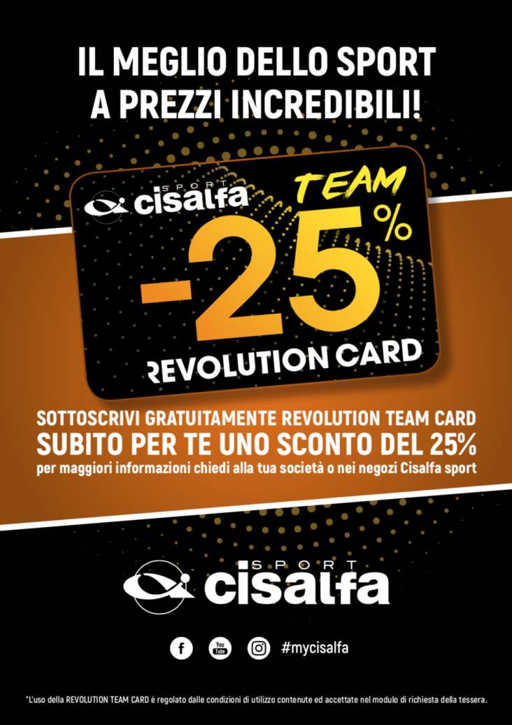 Revolution Team Card: Cisalfa Sport