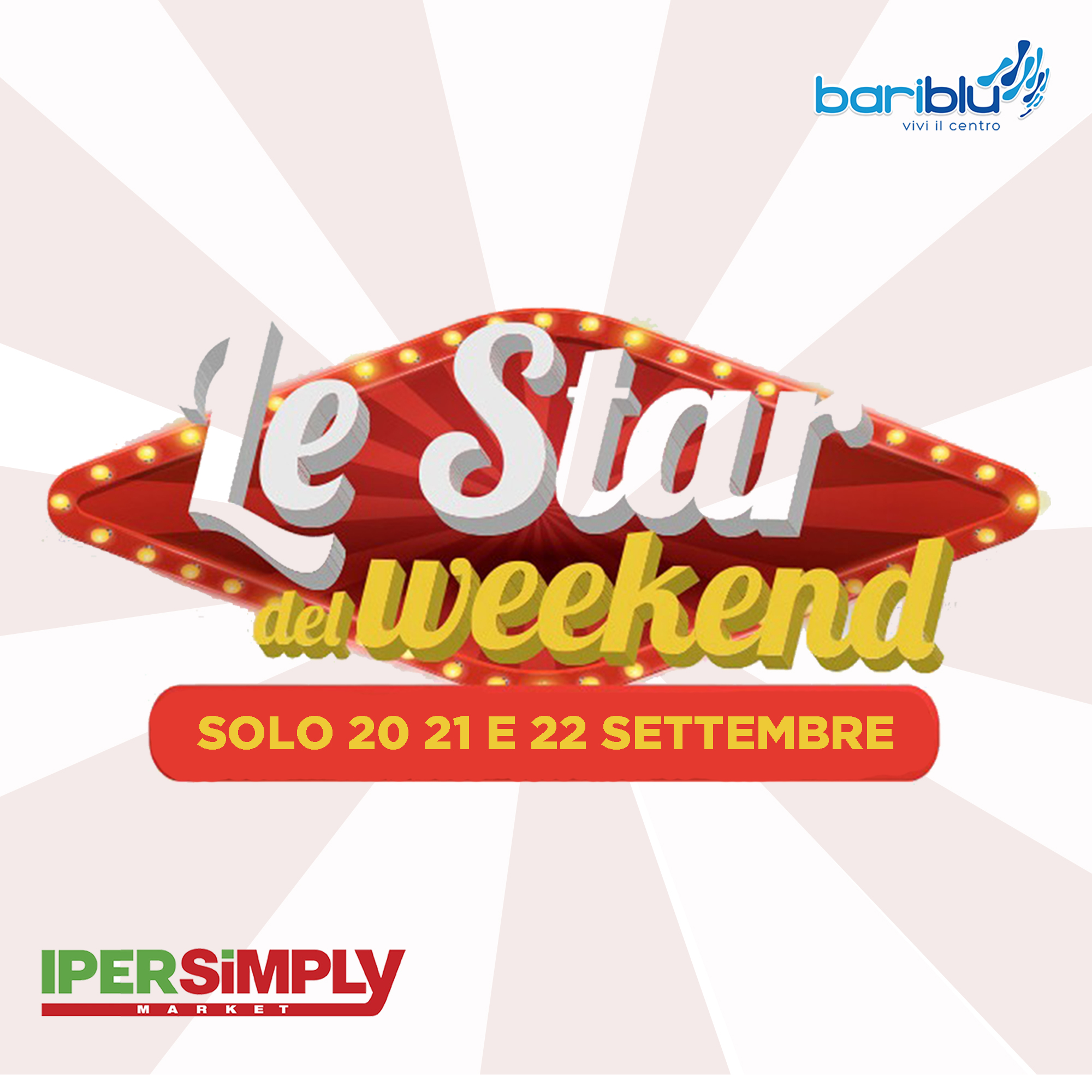 Ipersimply: le star del weekend
