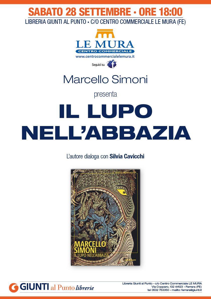 """Presentazione del libro  """"Il lupo nell'abbazia"""" di Marcello Simoni"""
