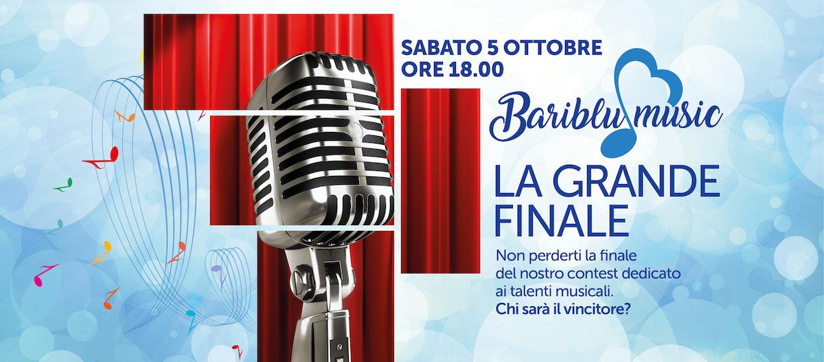 BariBlu Loves Music: gran finale il 5 ottobre alle 18.00 a BariBlu!