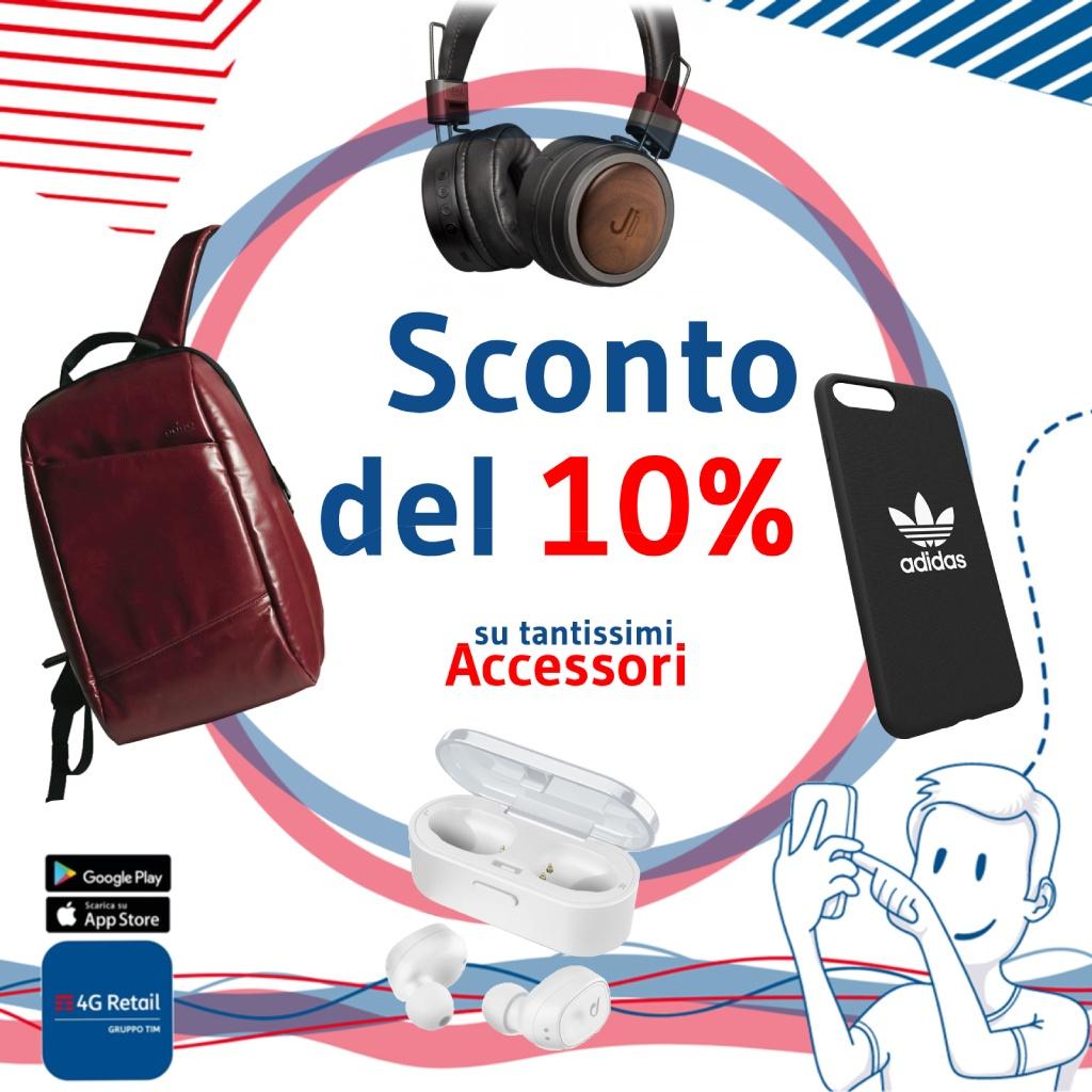 Tim 4 G Retail: Sconto accessori smartphone
