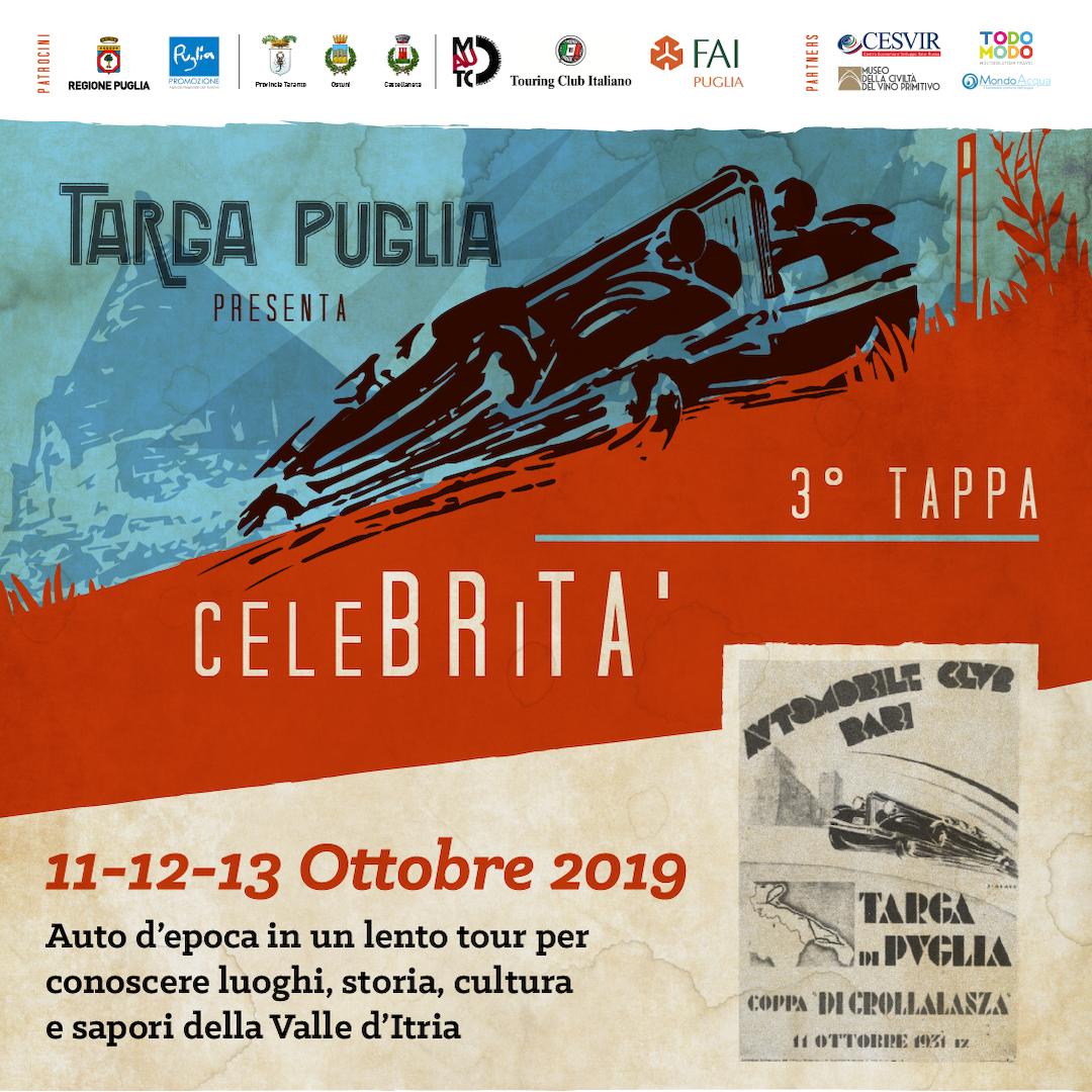 Le emozioni delle auto storiche di Targa Puglia arrivano a BariBlu