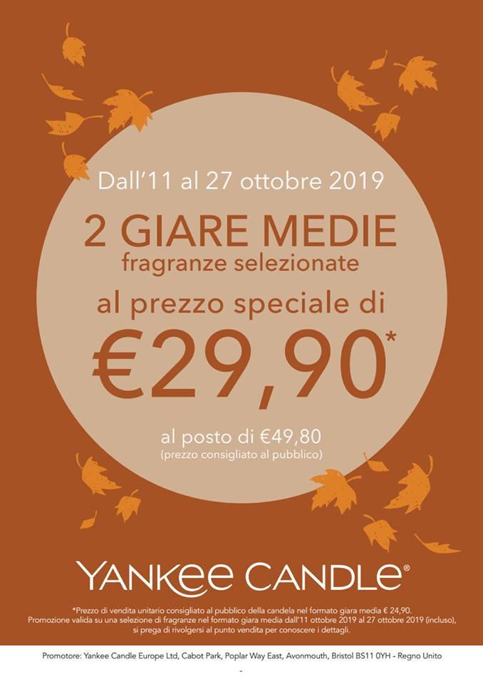 Promozione Giare: Yankee Candle