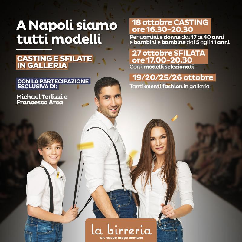 A Napoli siamo tutti modelli! Due settimane di eventi fashion alla Birreria