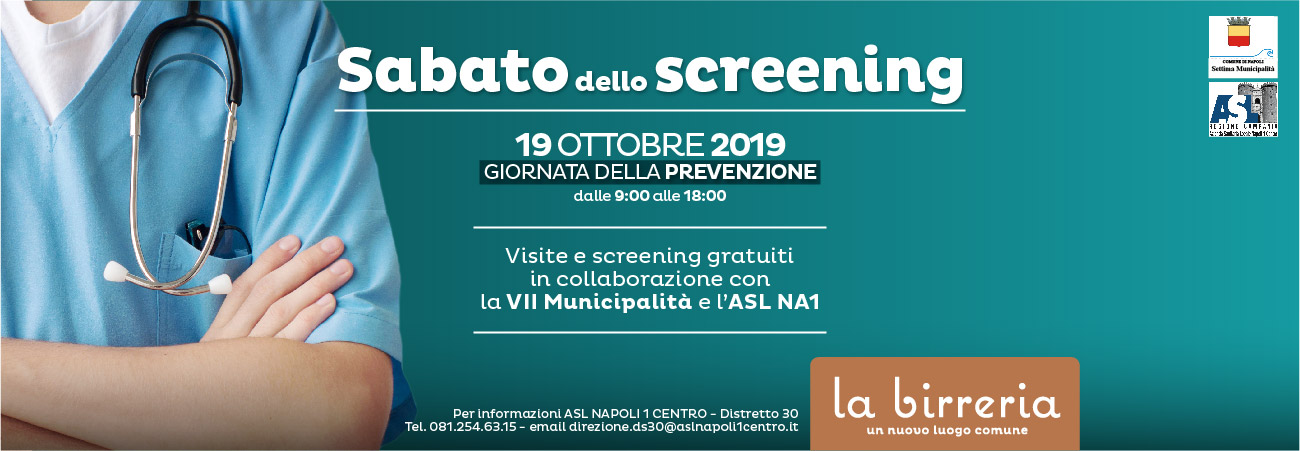 sabato dello screening