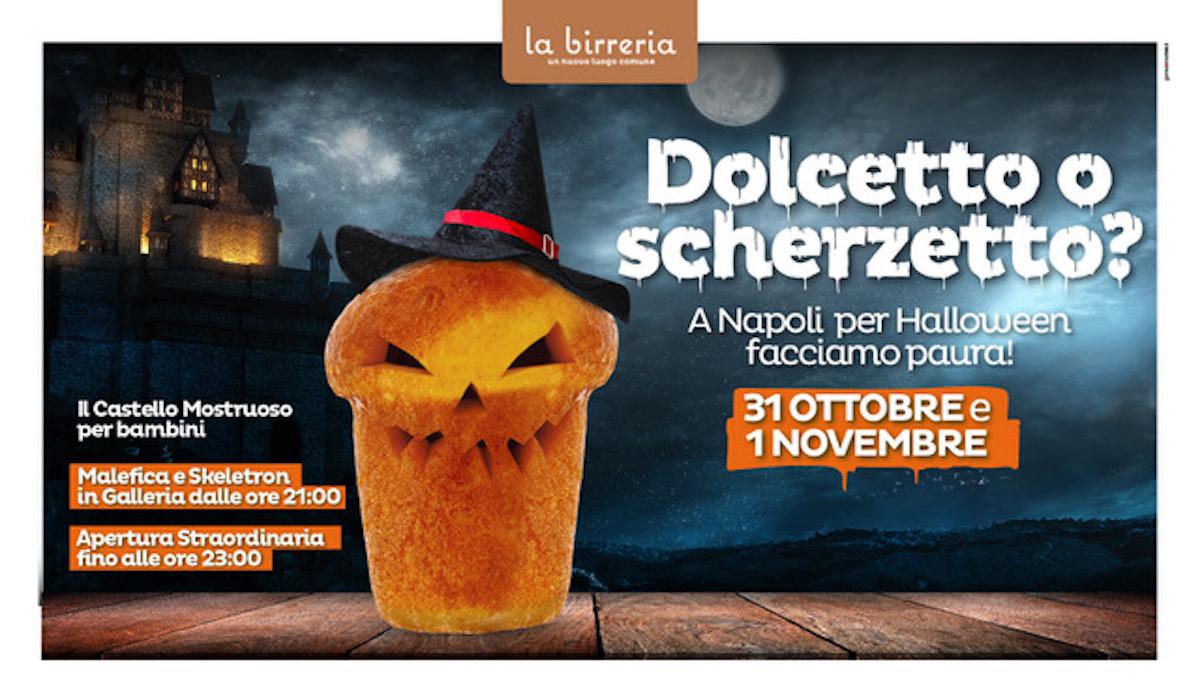 A Napoli per Halloween facciamo paura