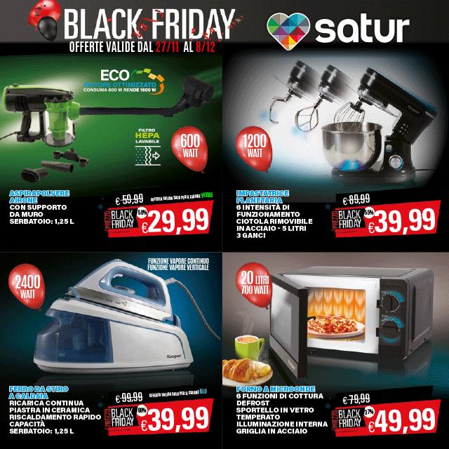 Satur : Black Friday