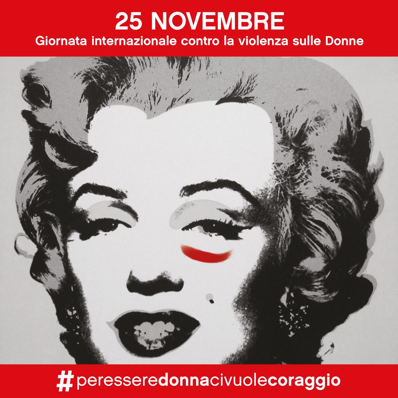 25 Novembre - Un selfie contro la violenza sulle donne