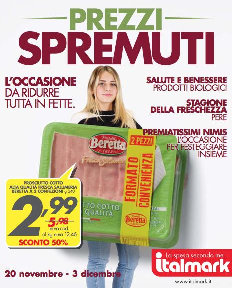 Italmark: Prezzi Spremuti