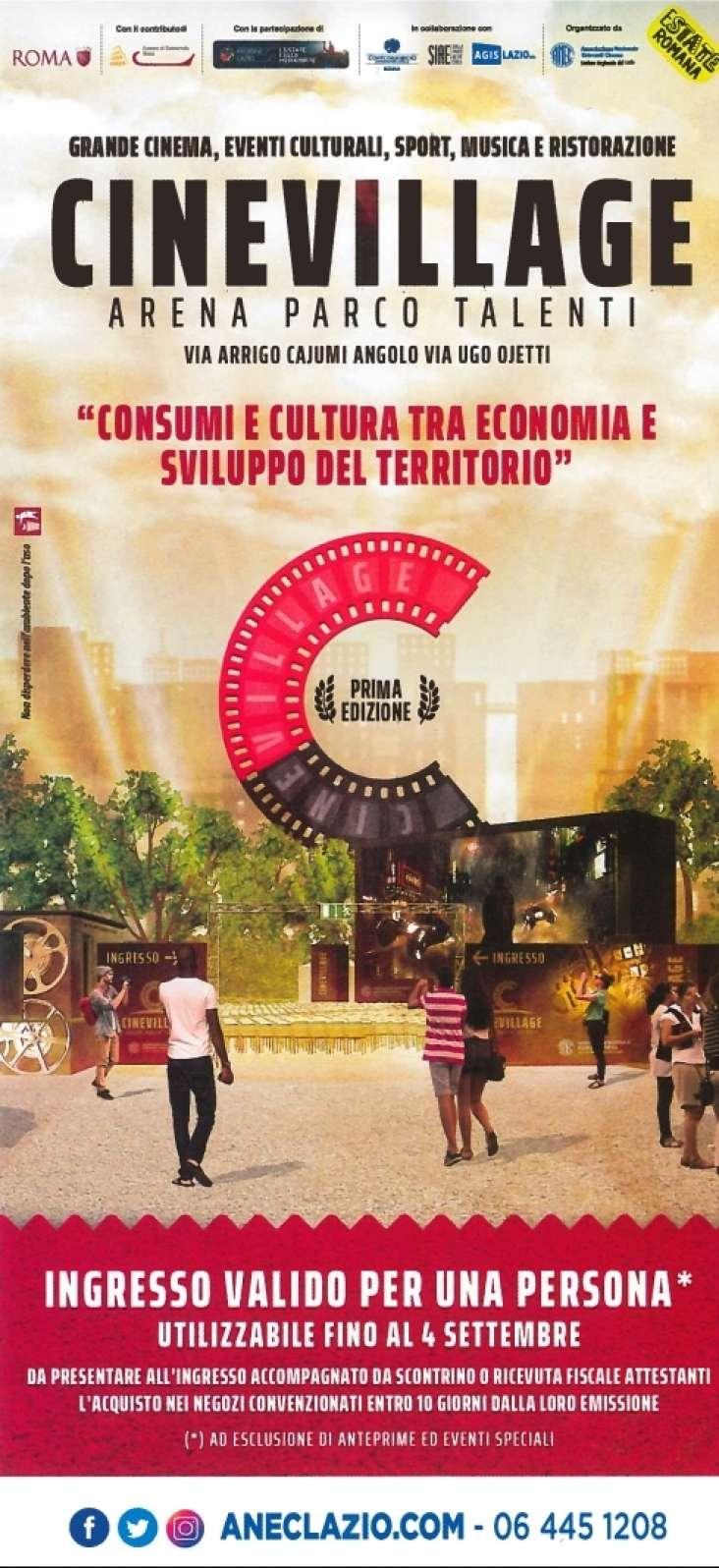 Il centro commerciale Bufalotta e Cinevilla insieme per il quartiere talenti