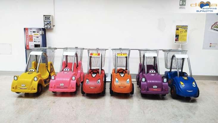 Play'N Go: i carrelli per i bimbi del Dima Shopping Bufalotta