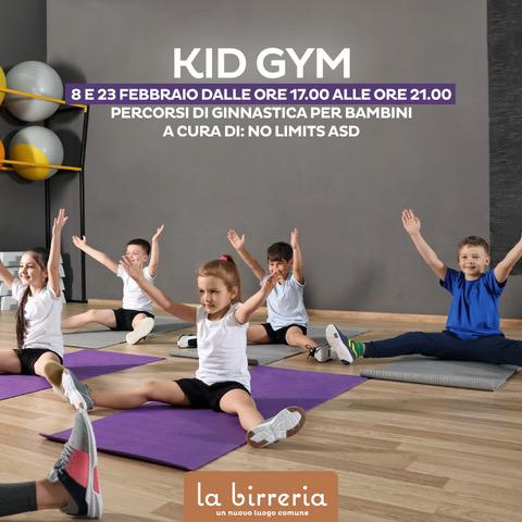 Kid Gym - Percorsi di ginnastica per bambini