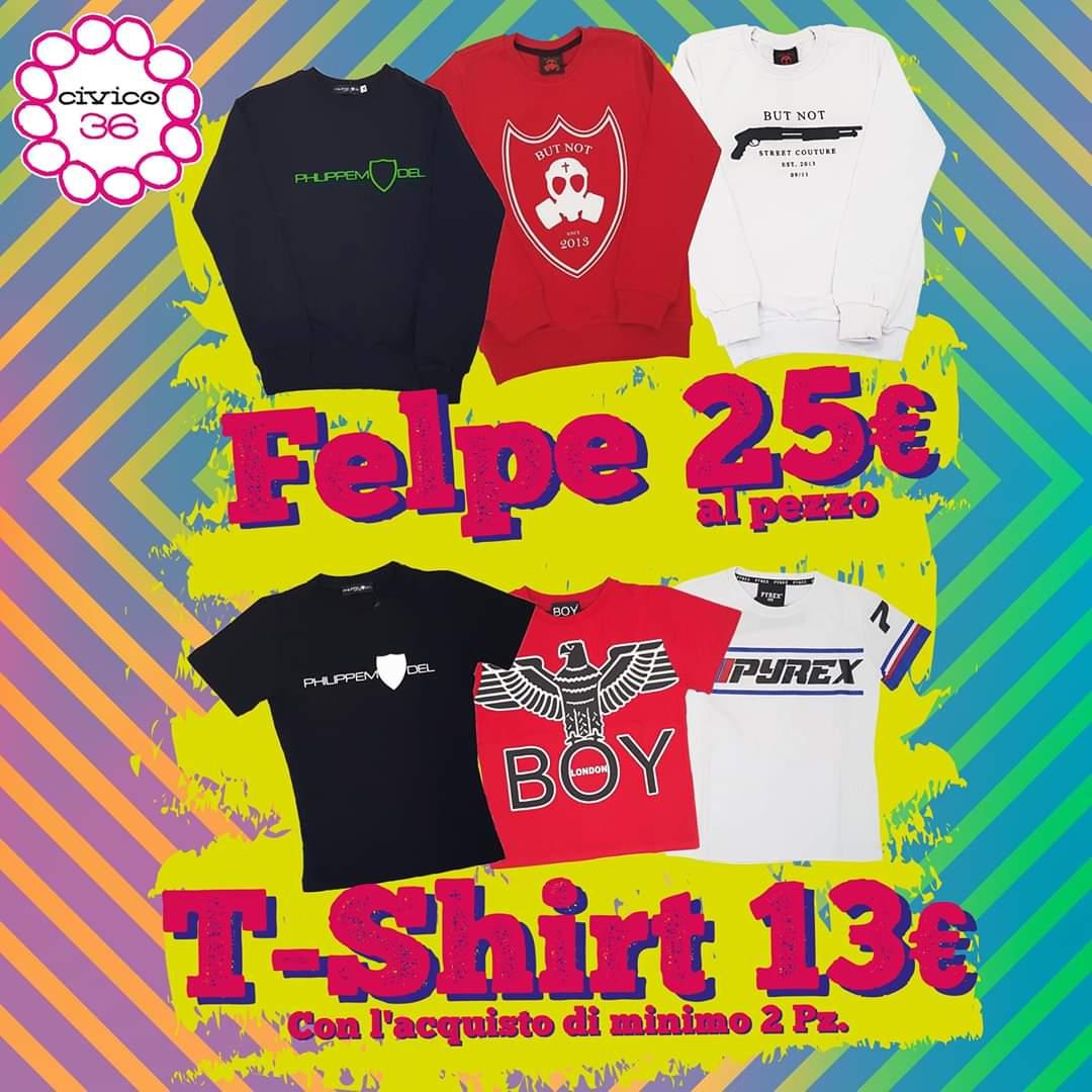 Civico 36: Promo Felpe & tShirt