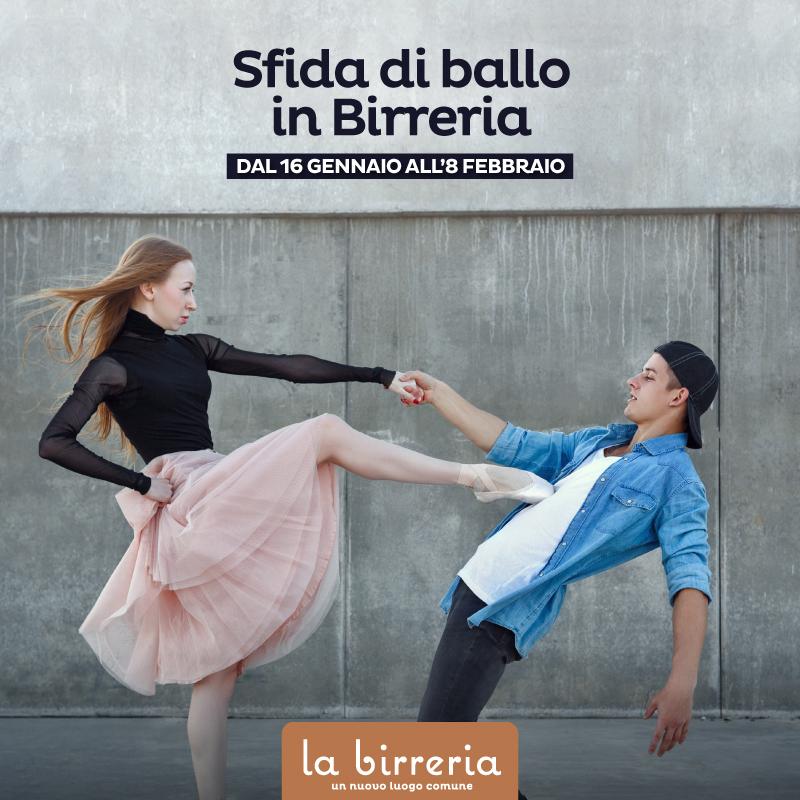 Sfida di Ballo in Birreria