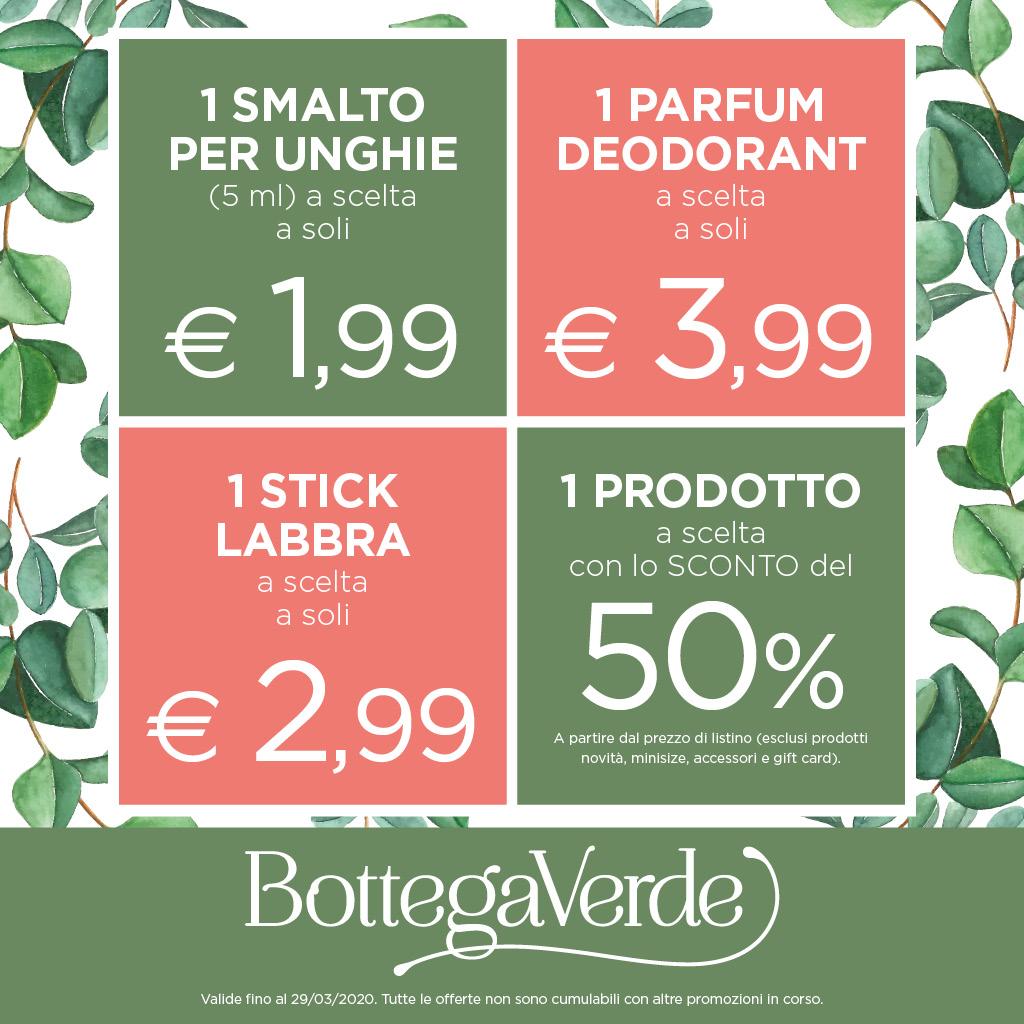 Bottega Verde: Scopri la primavera!