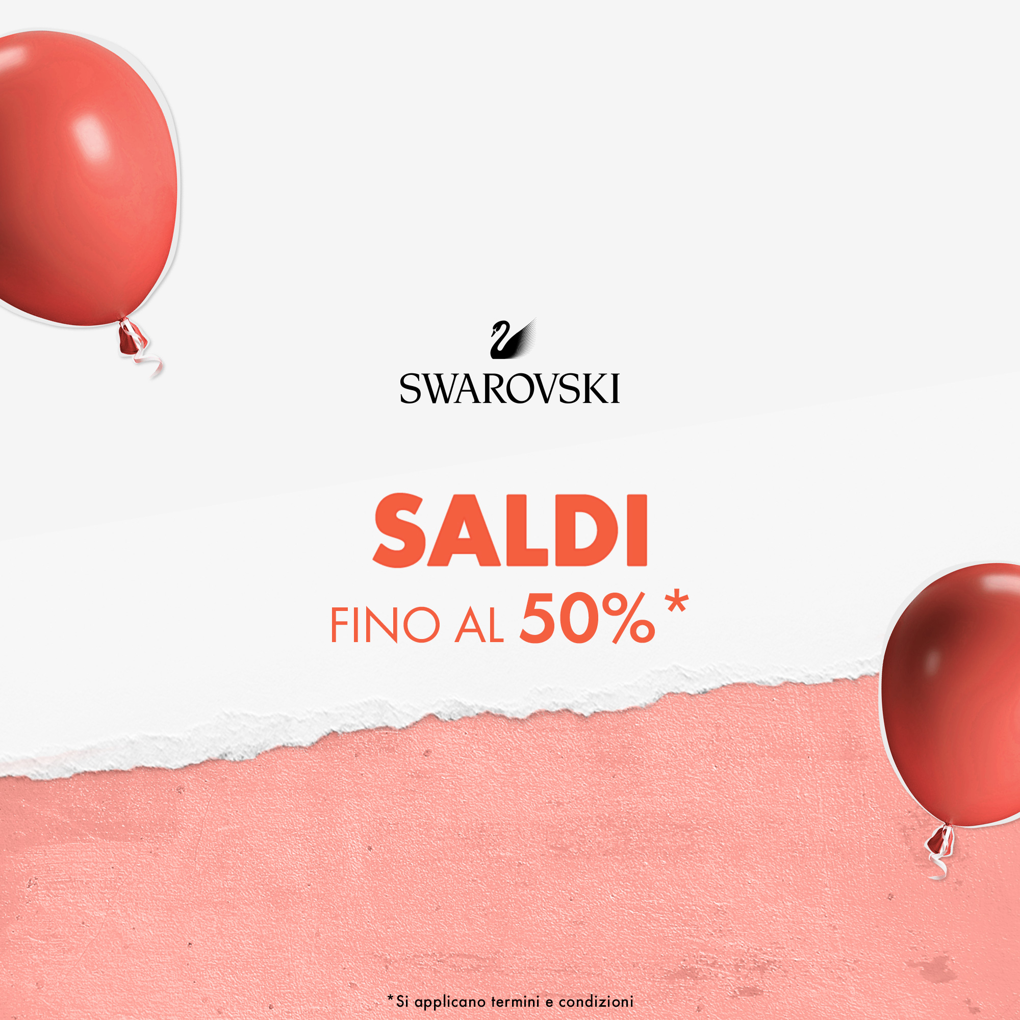SWAROVSKI: SALDI & CELEBRATION OFFER