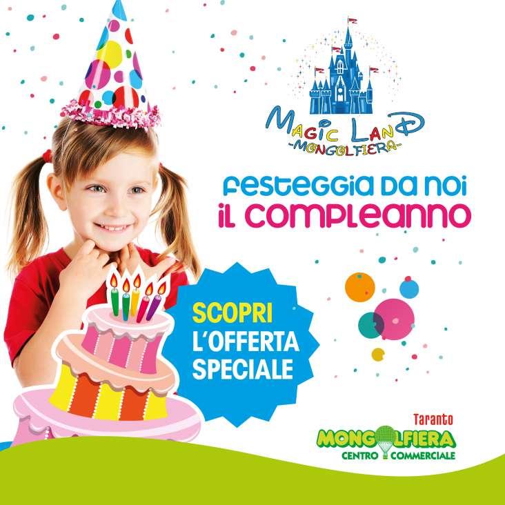 Super festa di compleanno da Magic Land!