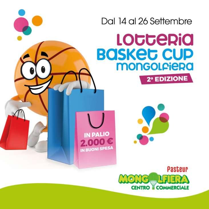 "Lotteria ""Basket Cup Mongolfiera"" – 2ª edizione"