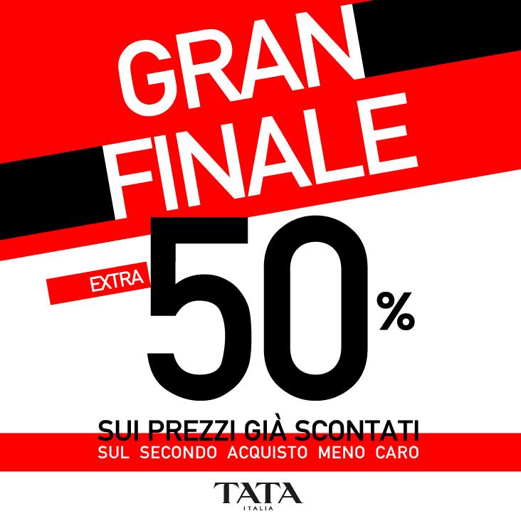 Tata: Gran finale extra 50%
