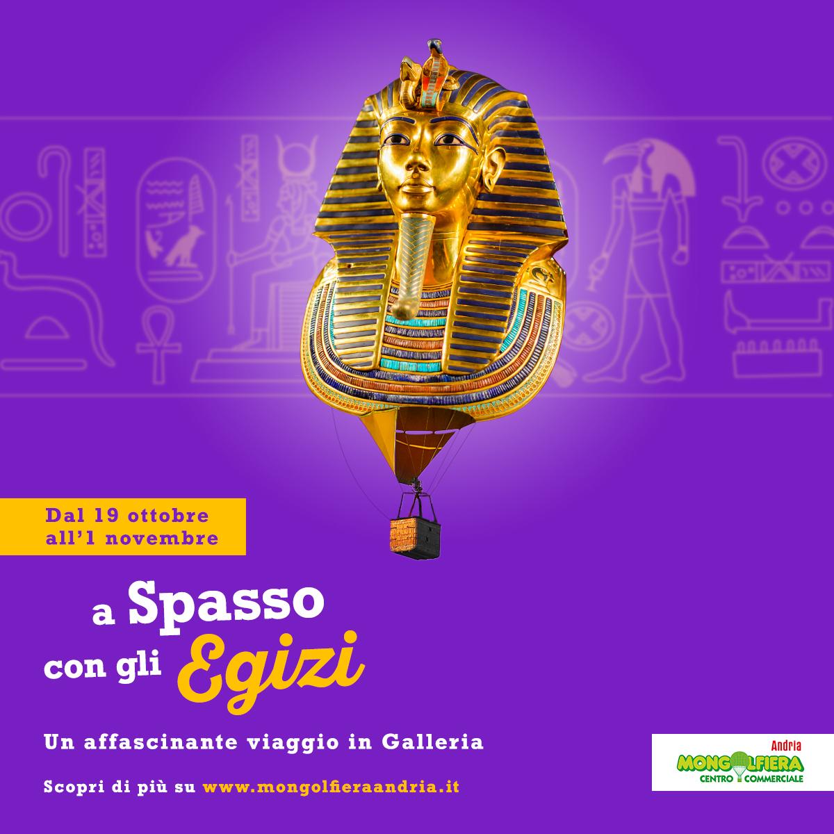 A spasso con gli egizi