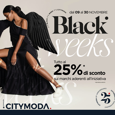 CityModa: Black Weeks