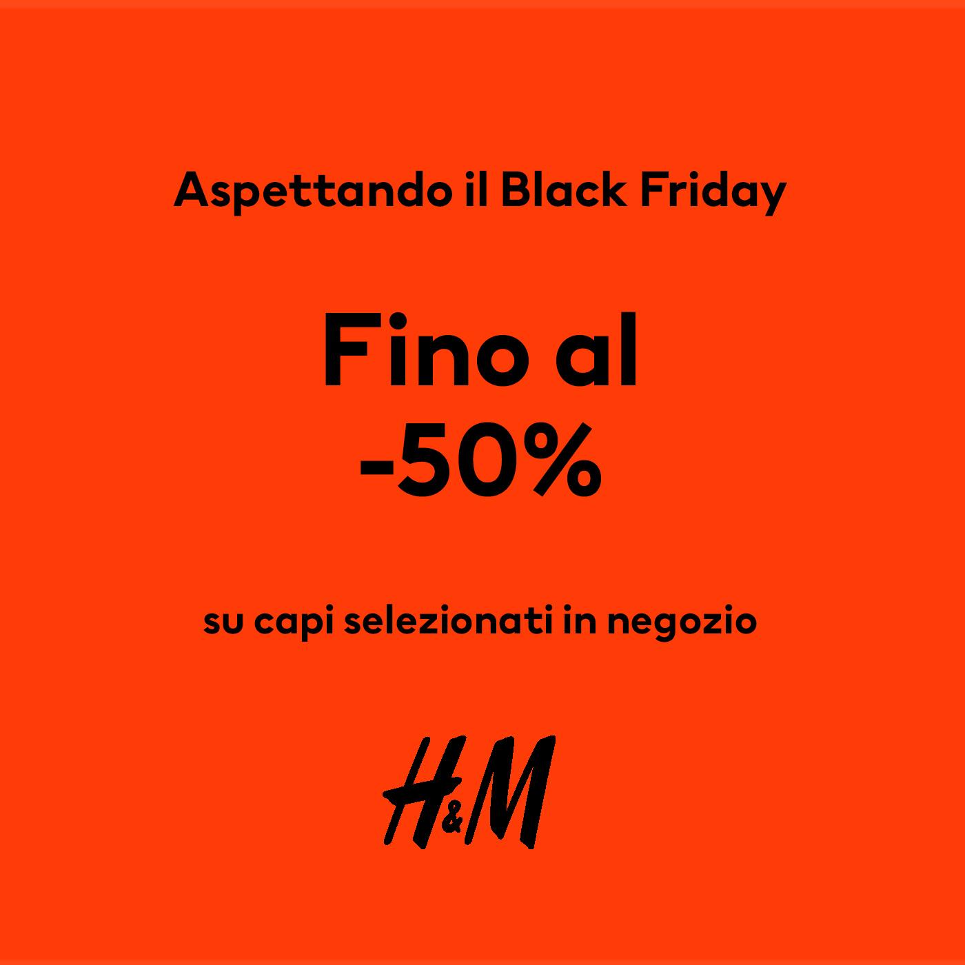 H&M: Black Friday Pre Deals