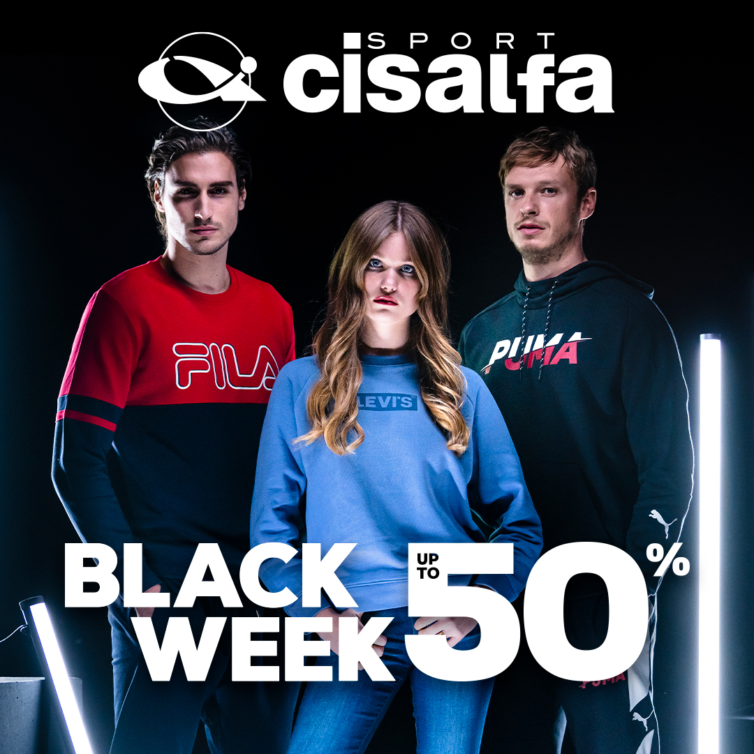 Cisalfa Sport: Black Week Up to 50%
