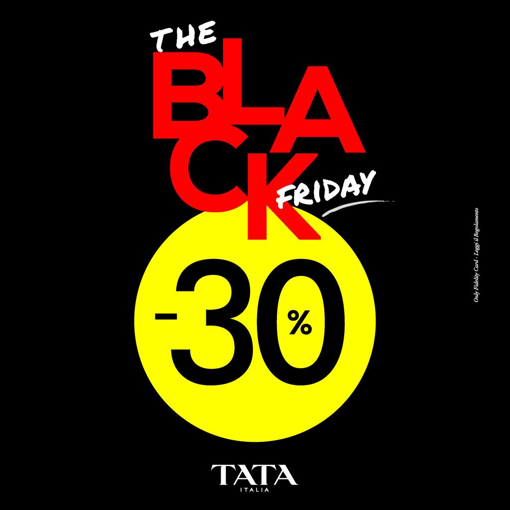 Tata Italia: Black Friday