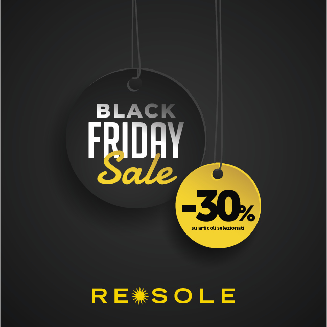 Re Sole: Black Friday