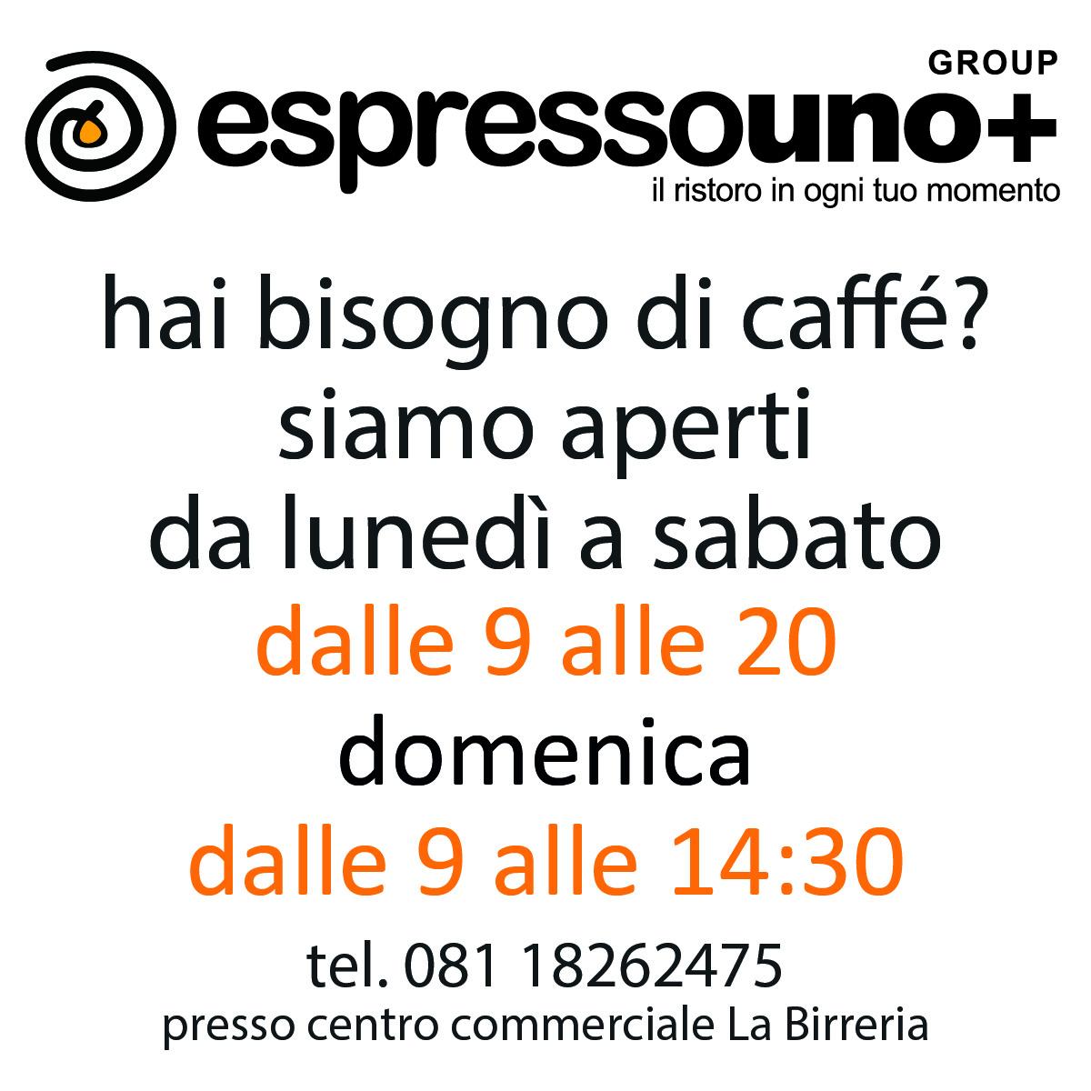 Espressouno+: Caffè