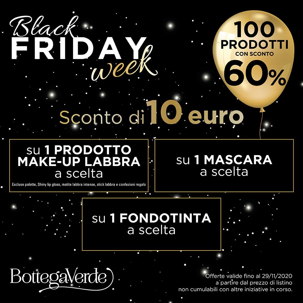 Bottega Verde: Black Friday Week