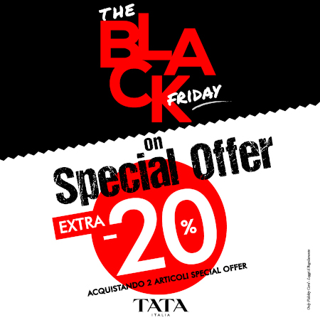 Tata Italia: Black Friday On Special Offer