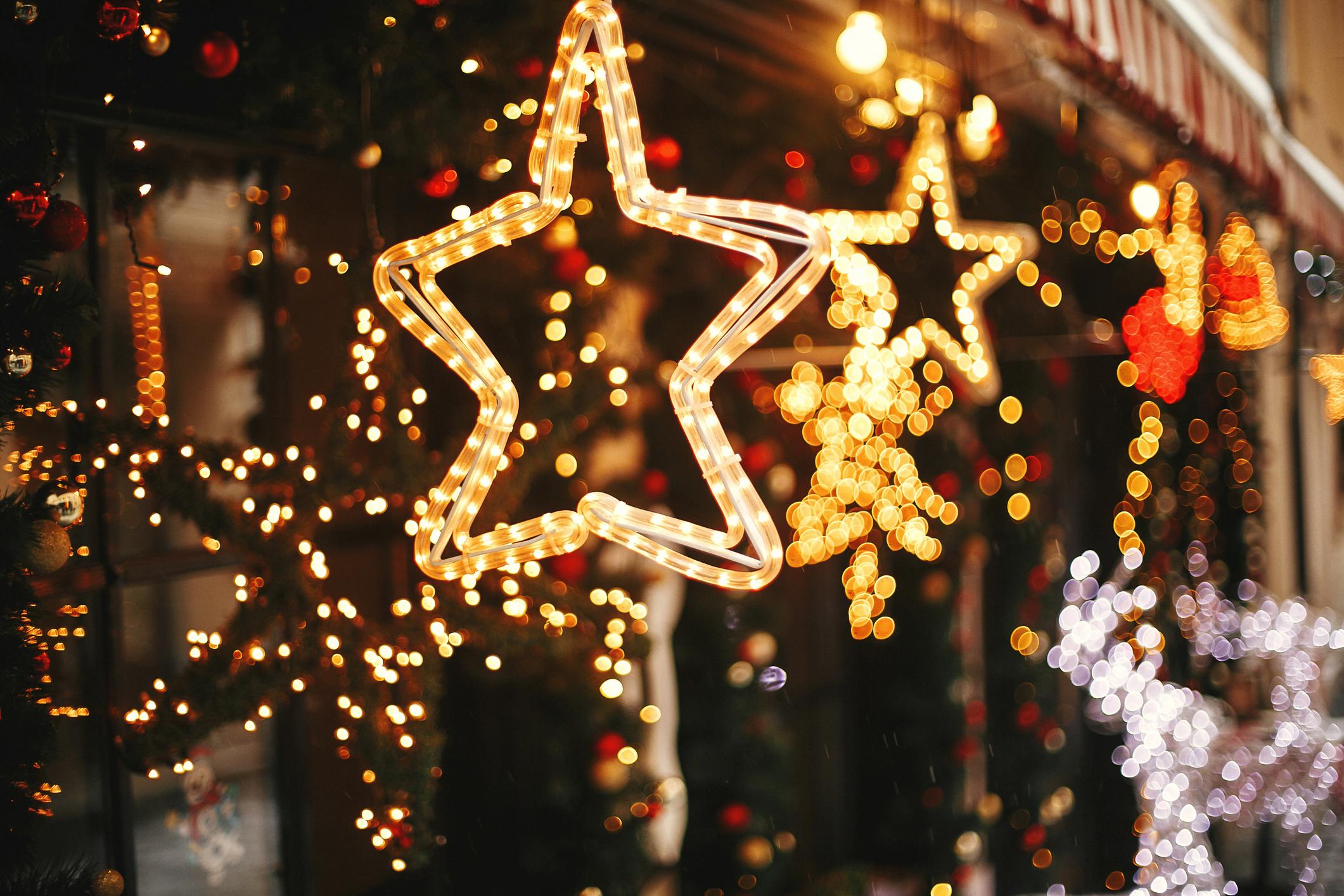Storia e origine delle luci di Natale