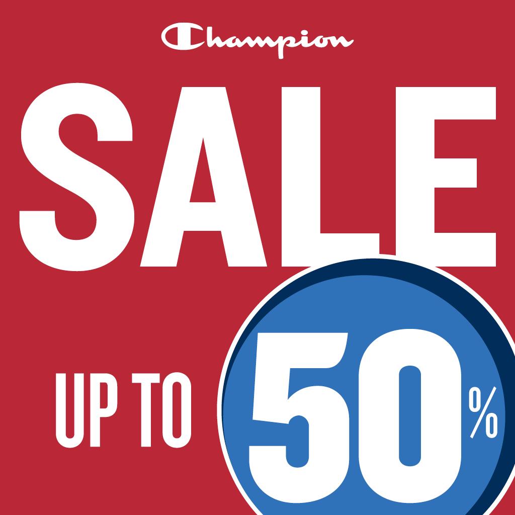 Champion: It's Sale Time!