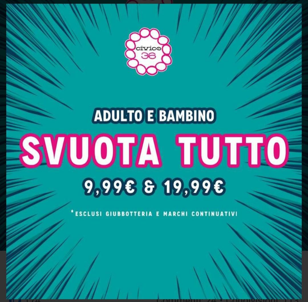 Civico 36 - FUORI TUTTO