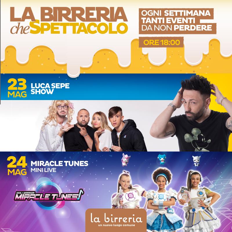 Luca Sepe Show e le Miracle Tunes!