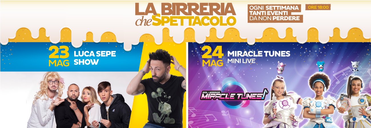 Luca Sepe Show e le Miracle Tunes