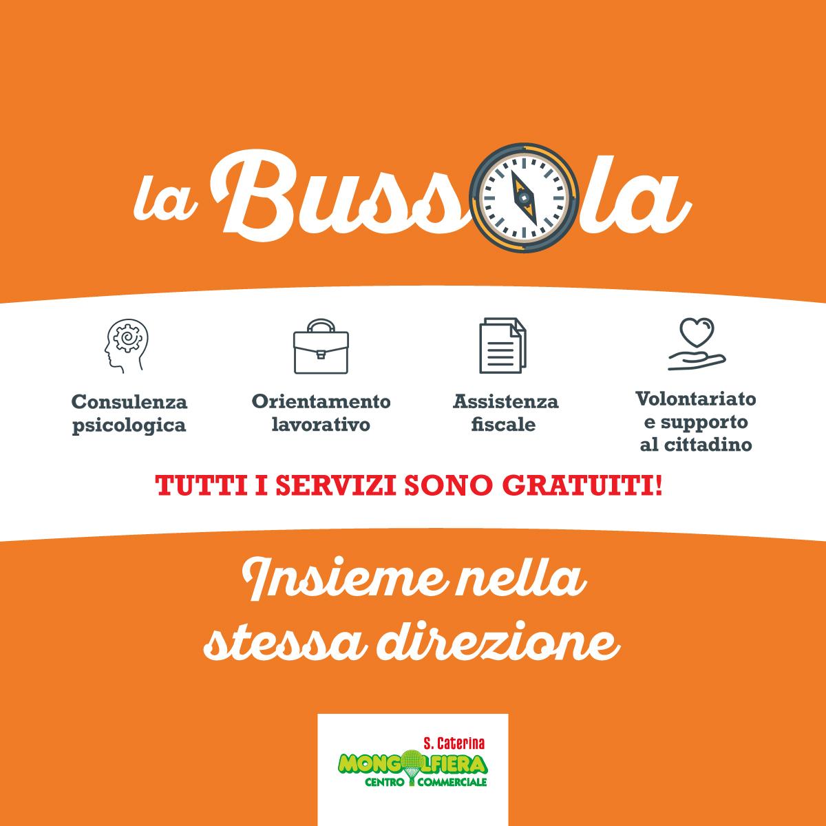 La Bussola: centro servizi gratuito