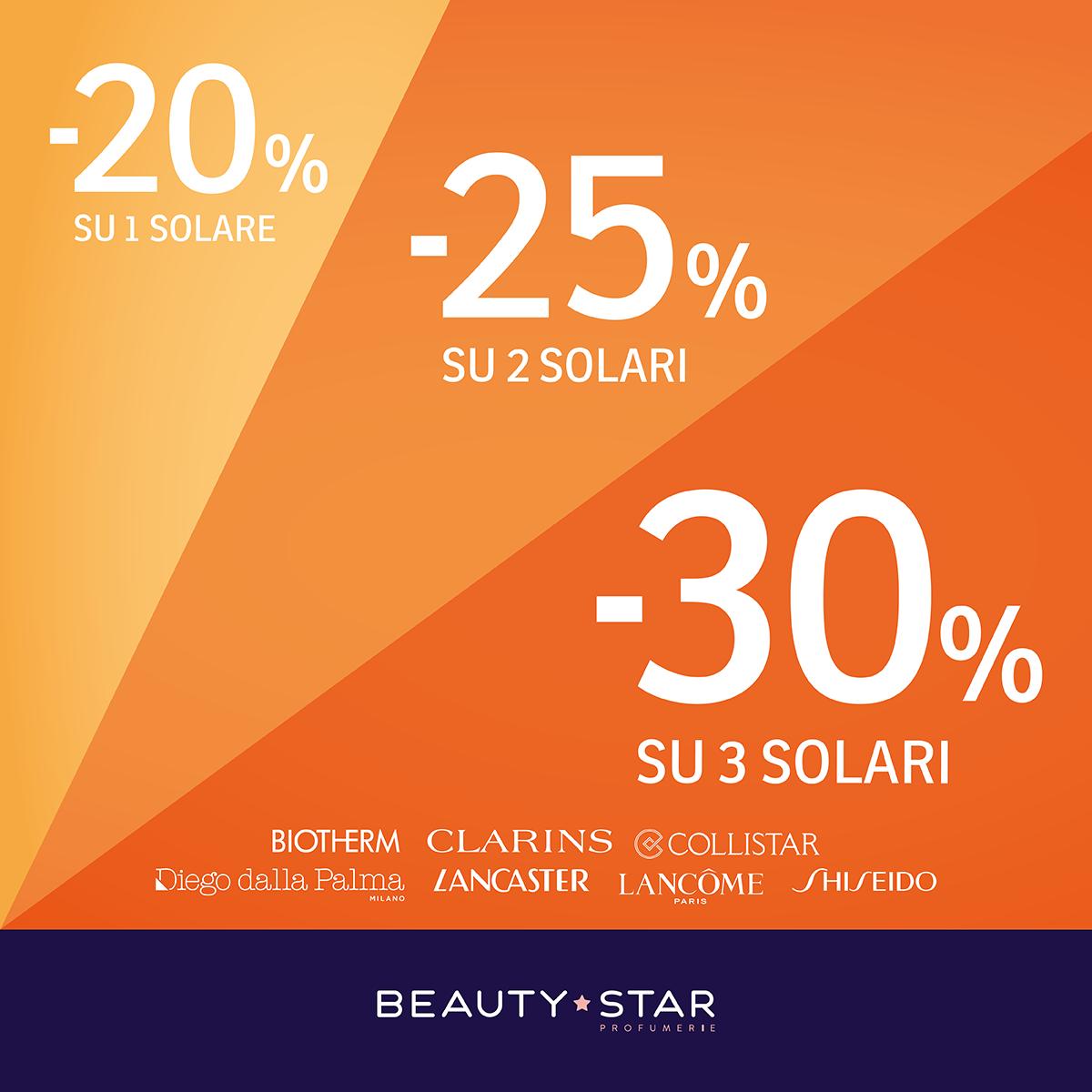 Beauty Star: Promo solari