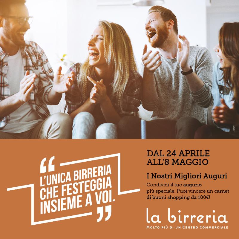 Il Centro La Birreria compie due anni: i nostri migliori auguri!