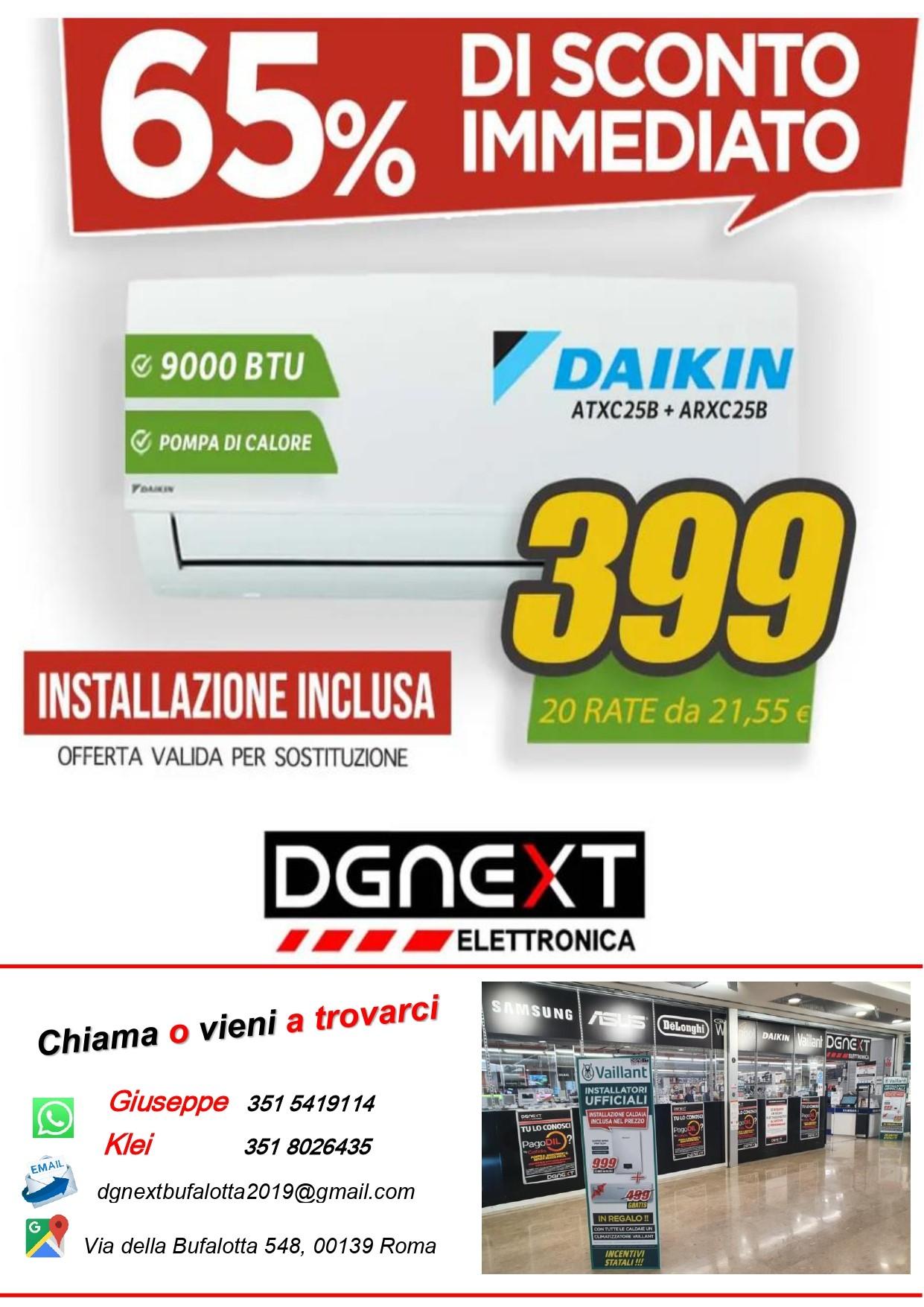 DGNext Elettronica: Sconto immediato