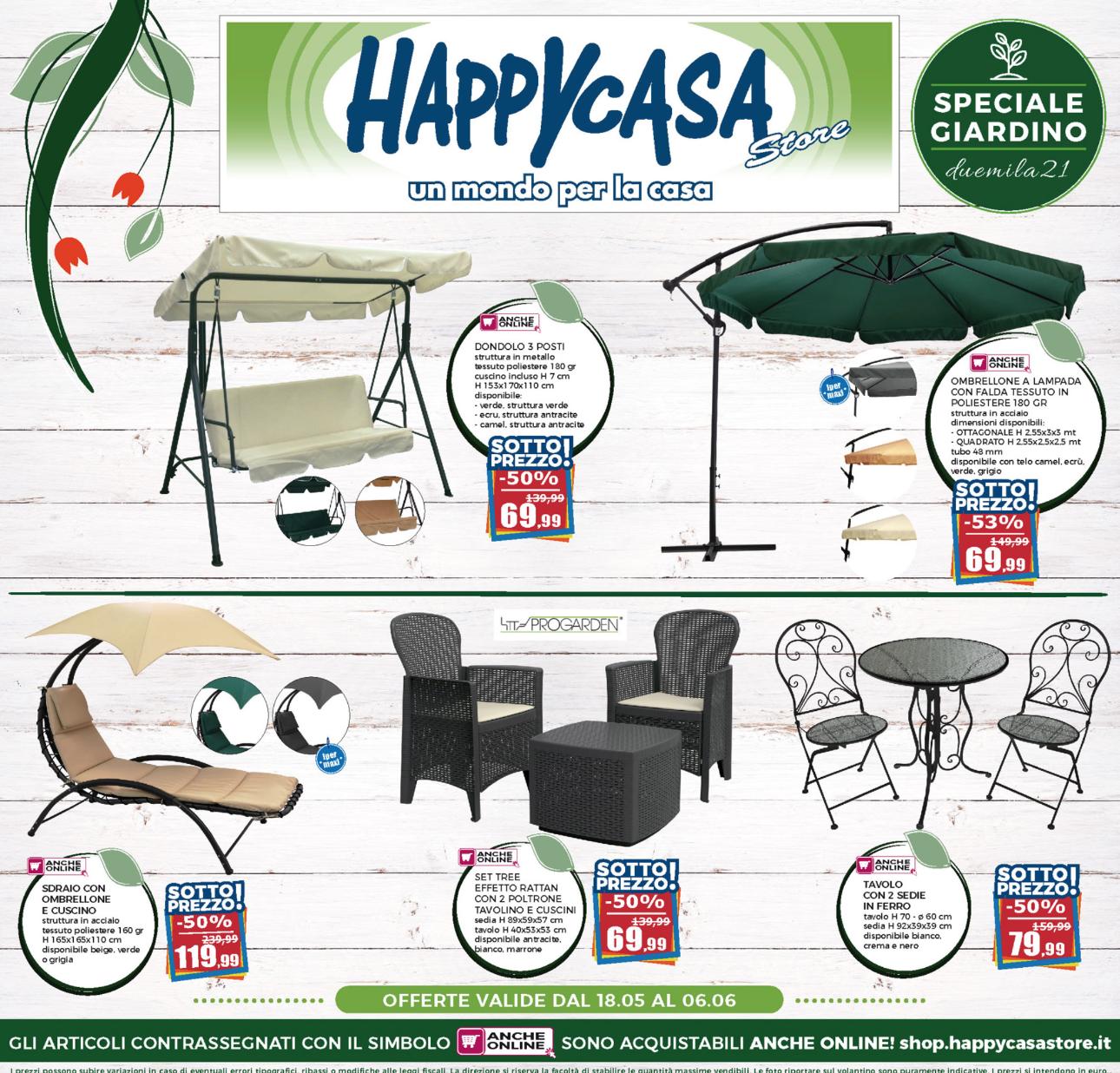 Happy Casa Store: Nuovo volantino