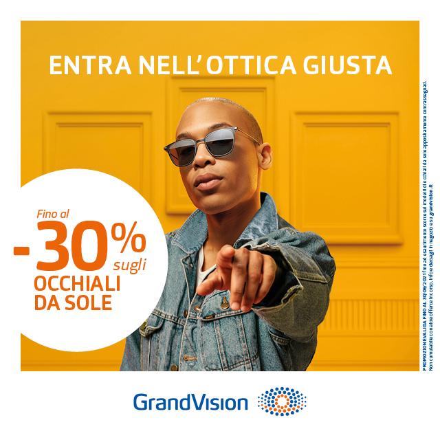 GrandVision: Promozione Sole