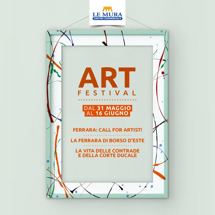 Al Centro Le Mura arriva Art Festival
