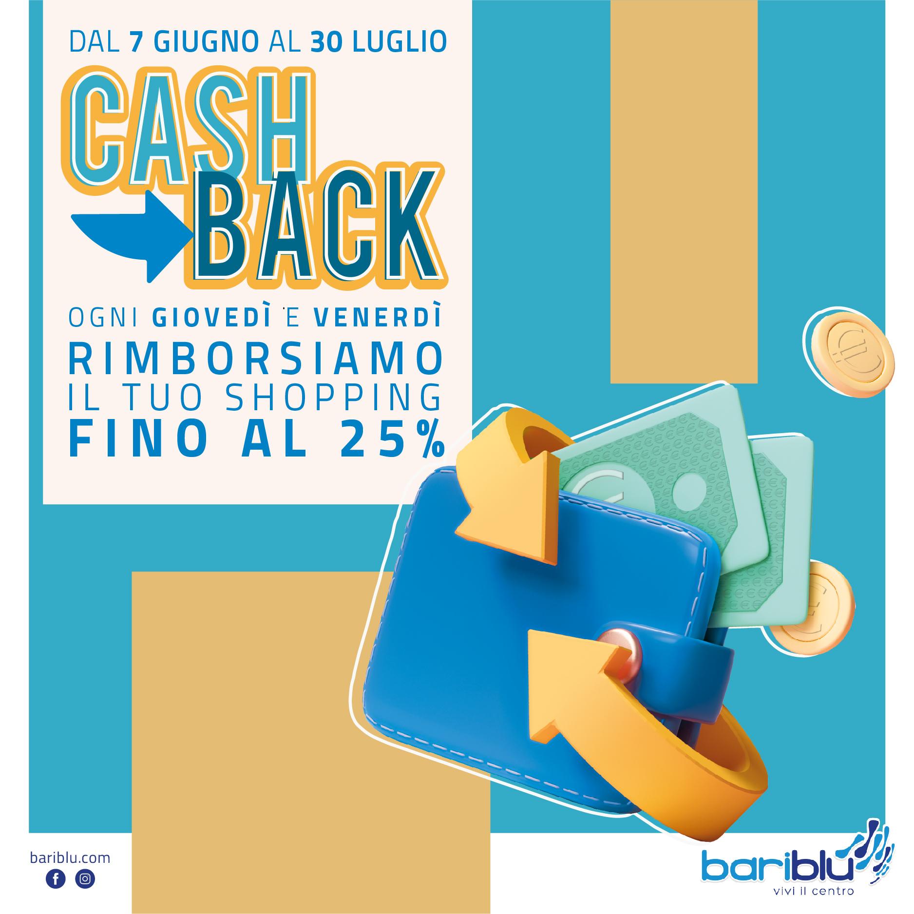 Cashback Days al centro commerciale Bariblu