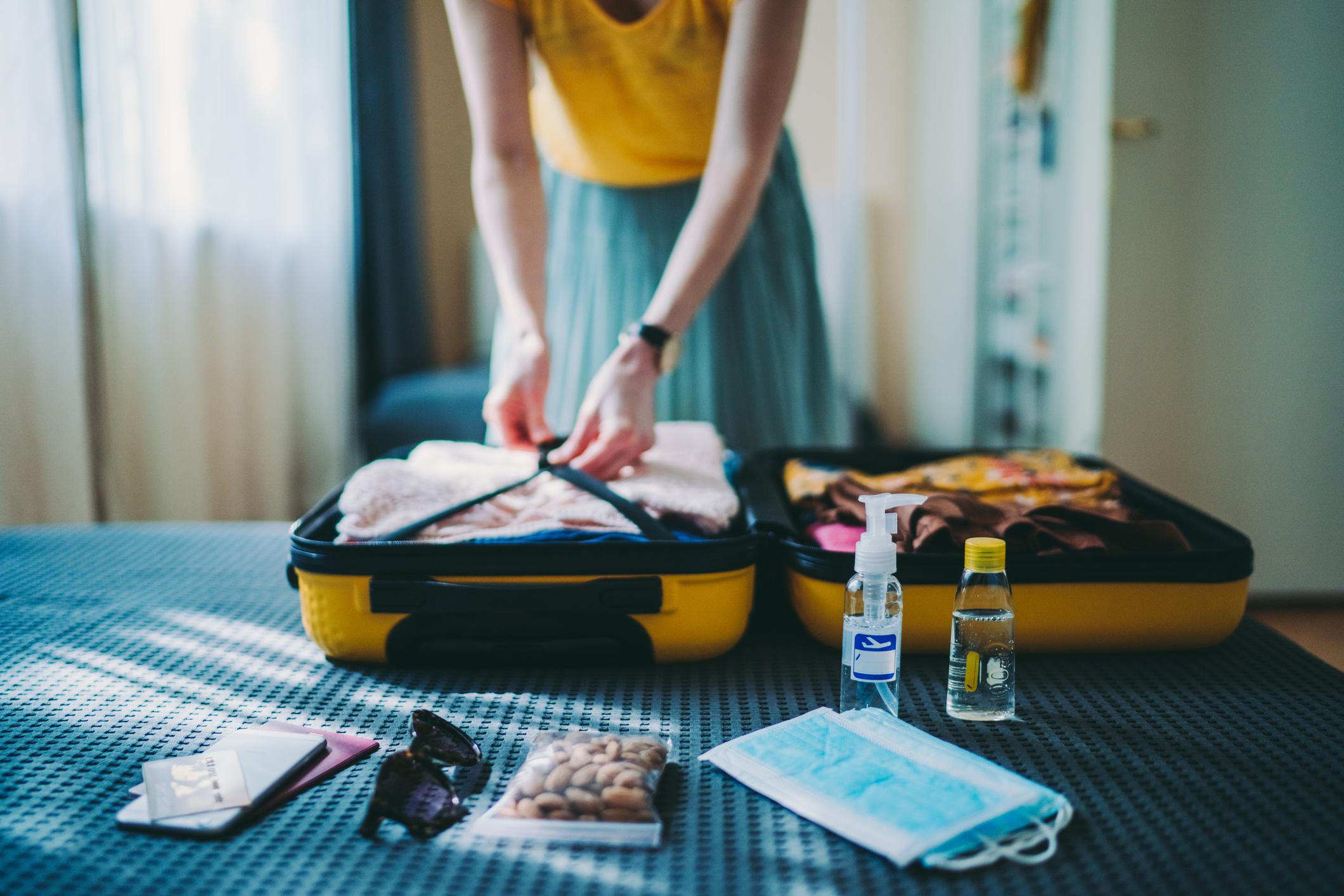 Le giuste cose da mettere in valigia