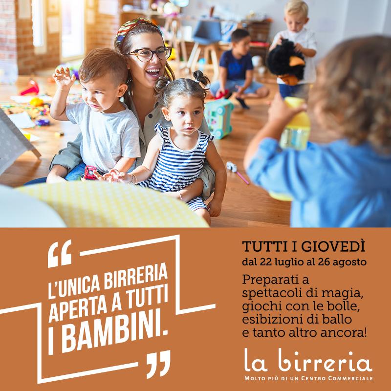 In Birreria il divertimento è anche per i più piccoli!