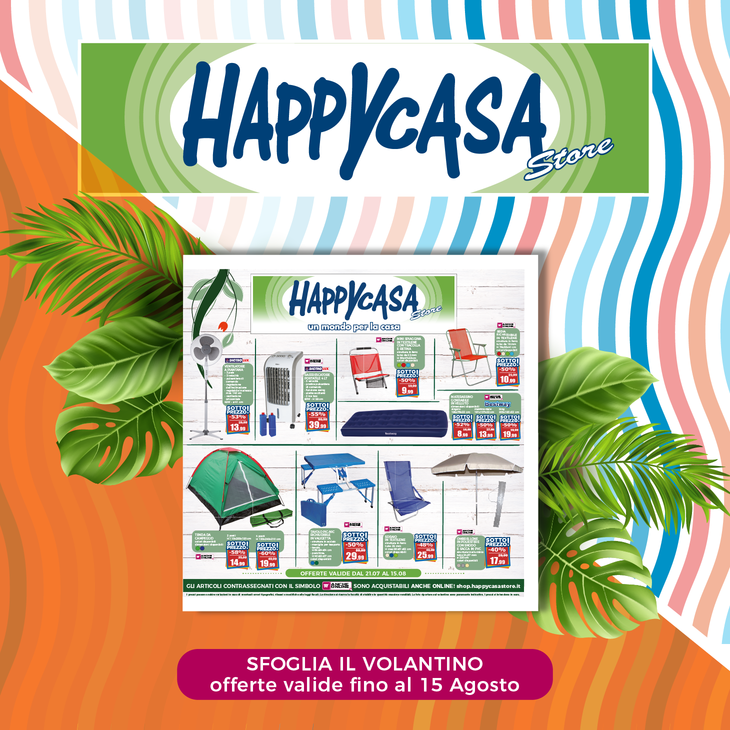 Happy Casa Store: Volantino agosto 2021